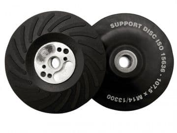 Angle Grinder Turbo Pad ISO Hard 125mm (5in) M14